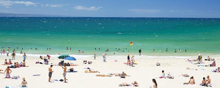 Les plages superbes, de Bondi Beach à Noosa